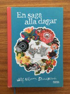 """""""En saga alla dagar"""" inleds med en familj som läser saga tillsammans. När  sagan är slut funderar de på om de kan göra egna böcker 802823059c94f"""