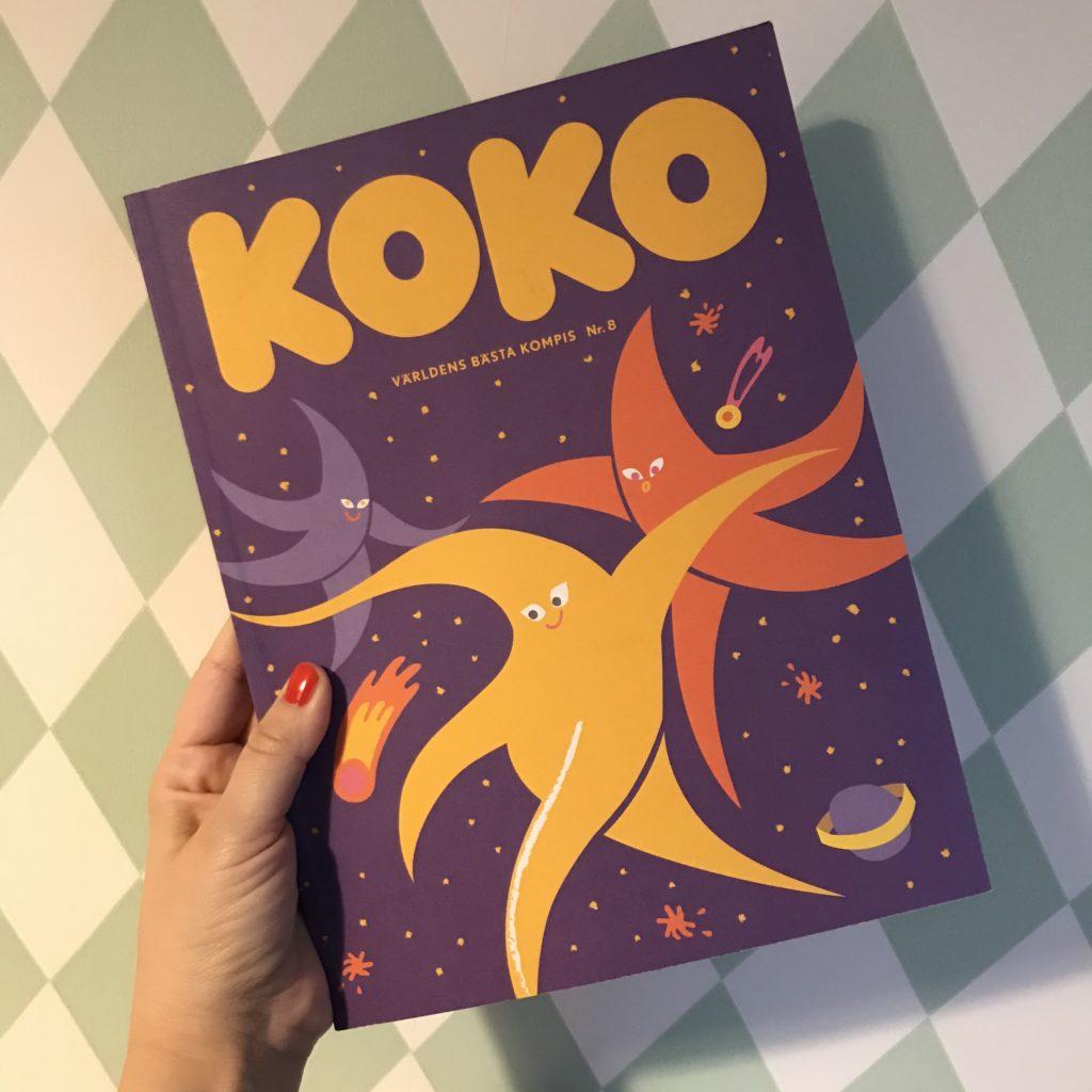 Nya numret av tidningen KOKO -världens bästa kompis