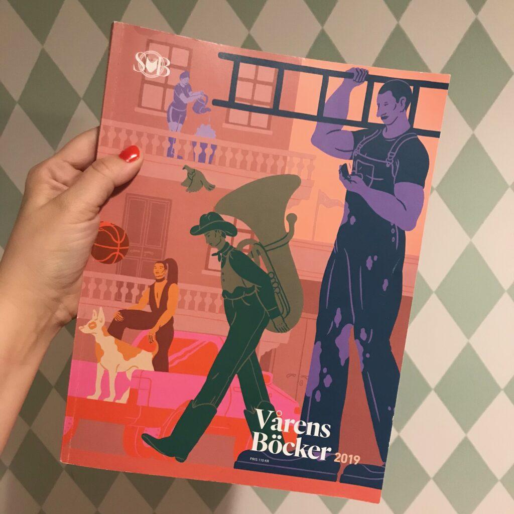 """Svensk bokhandels katalog """"Vårens böcker 2019"""""""