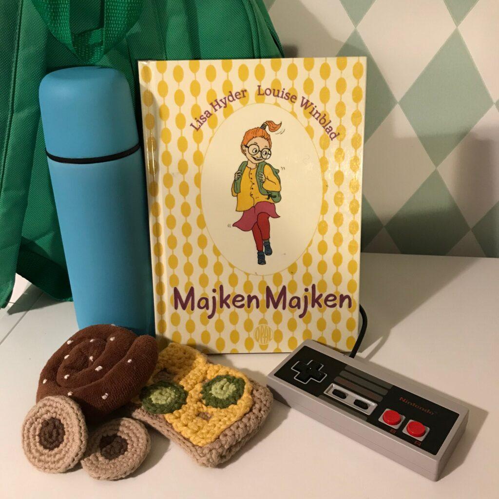 """Boktips -illustrerade kapitelboken """"Majken Majken"""" av Lisa Hyder och Louise Winblad."""