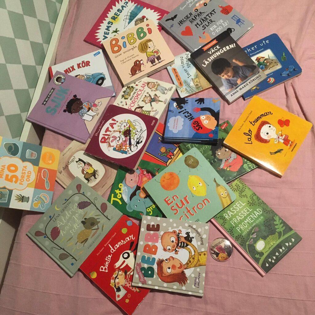 Boktips för småbarn, småbarnsböcker, bokprat på bvc.