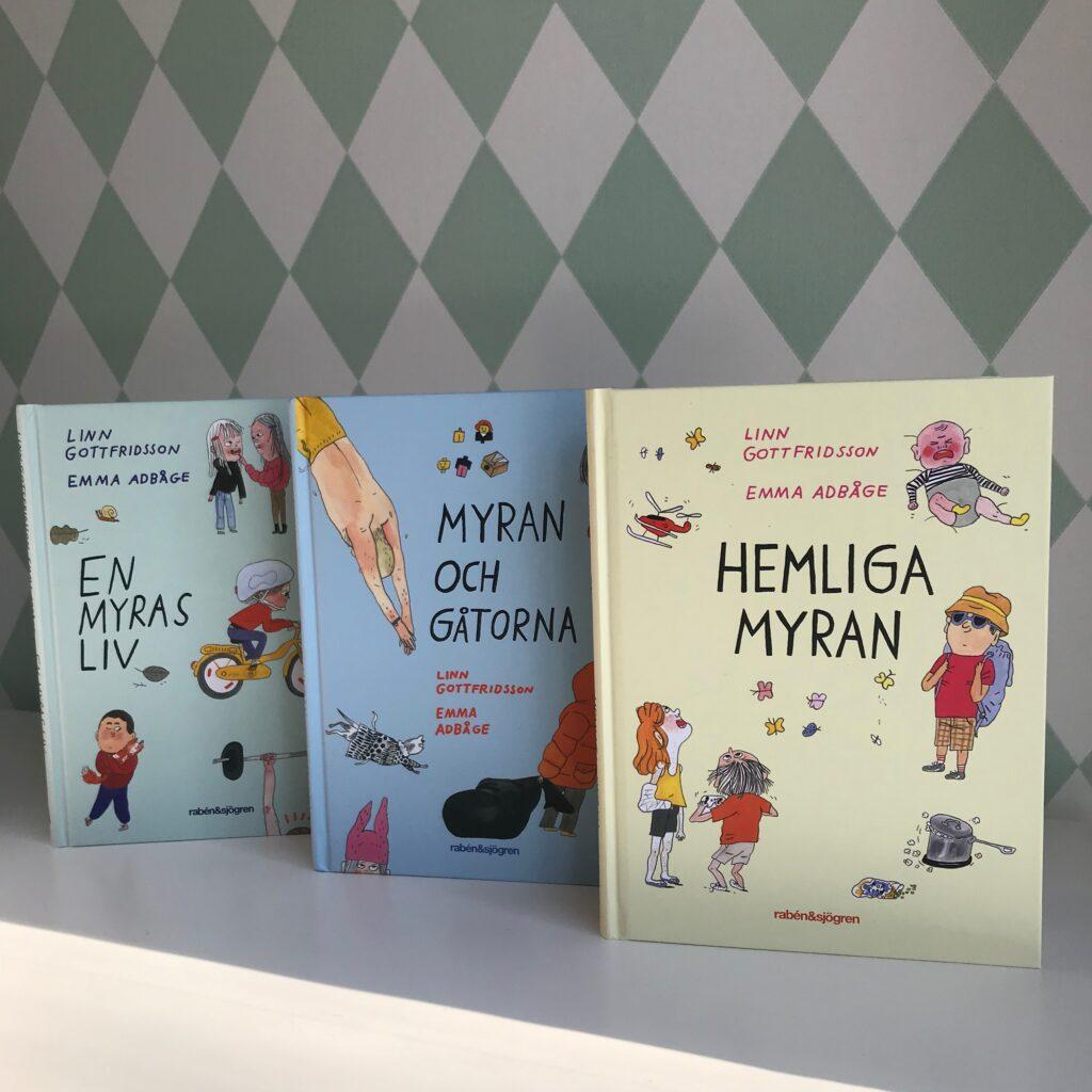 Barnbok, boktips, barnbokstips. Hemliga Myran. Kapitelbok