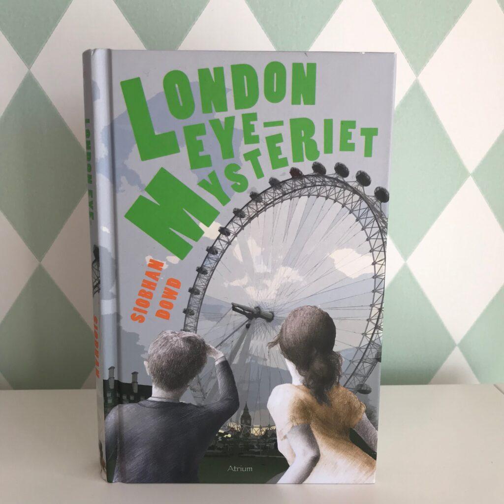 Boktips barn. London Eye-mysteriet av Siobhan Dowd. Slukaråldern. Barnens boktips