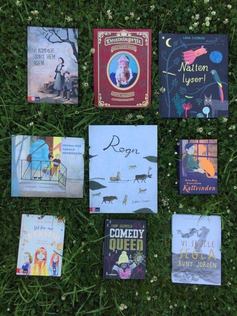 Boktips för barn. Faktaböcker, bilderböcker och barn- och ungdomsböcker nominerade till Svensk Biblioteksförenings priser.
