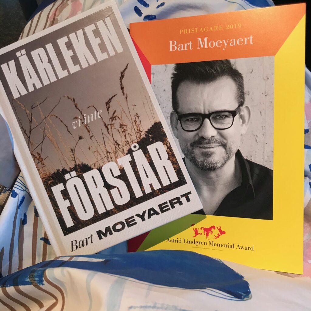 """ALMA-prisceremonin. Pristagaren Bart Moeyaert och hans ungdomsbok """"Kärleken vi inte förstår"""""""