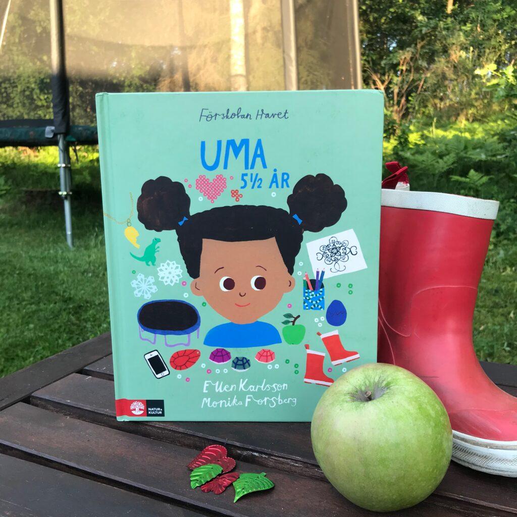 Boktips för förskolebarn: Uma 5 1/2 år av Ellen Karlsson och Monika Forsberg.