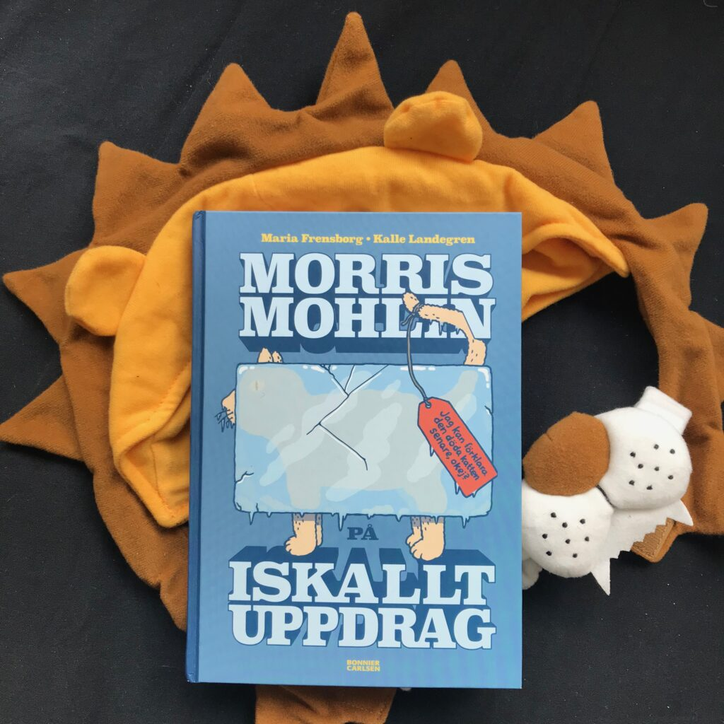 Boktips för 11-åringar och högstadiet. Morris Mohlin på iskallt uppdrag. Barnens boktips