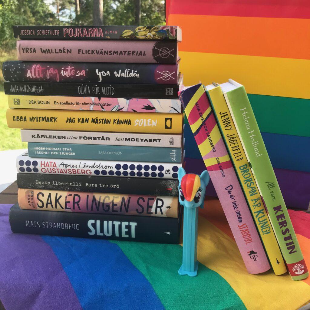 Boktips på pridetema. Barn- och ungdomsböcker. Barnens boktips