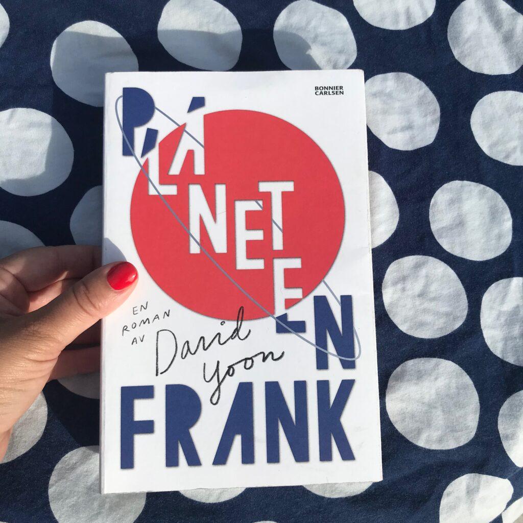 Boktips: Planeten Frank av David Yoon. Ungdomsbok.