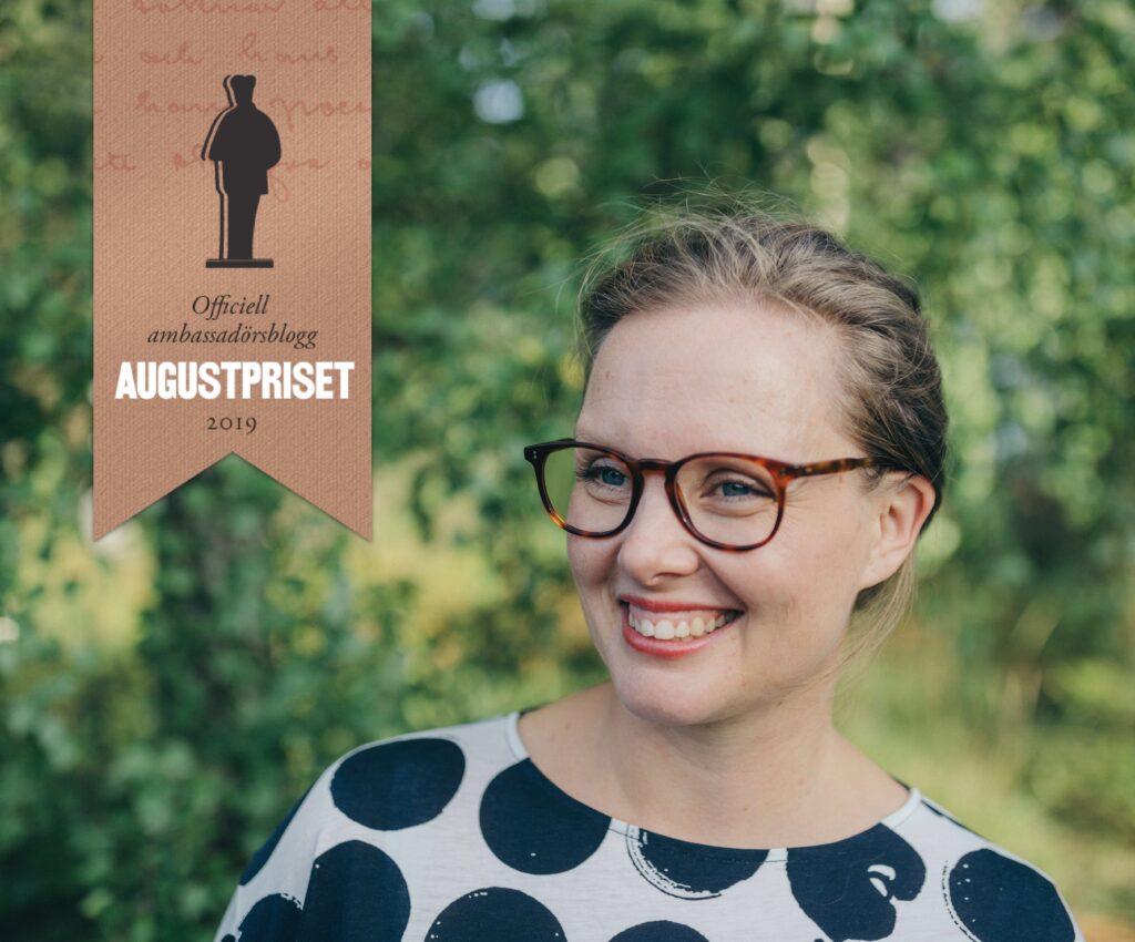 Boktips för barn. Augustambassadör 2019 Johanna Stenlund.