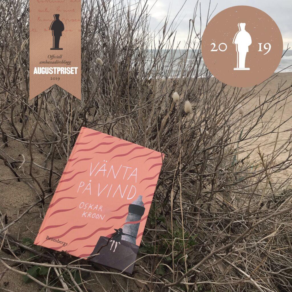 """Augustvinnaren """"Vänta på vind"""" av Oskar Kroon. Boktips för barn."""