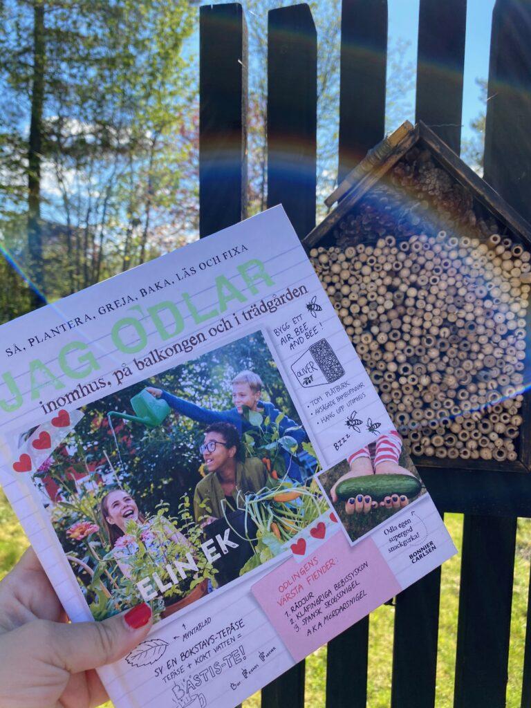 Boktips: Jag odlar. Odlingsbok för barn med tips, recept och pyssel.