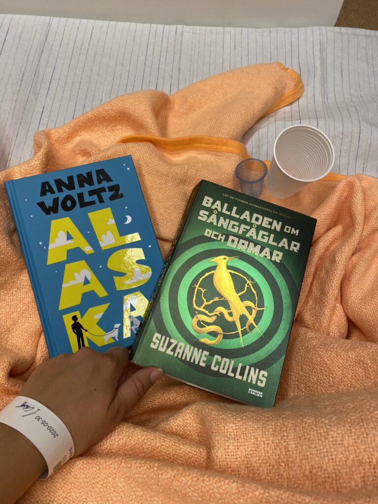 Boktips för 9-12 samt ungdomsboktips. Alaska av Anna Woltz och Ballanden om sångfåglar och ormar av Suzanne Collins.