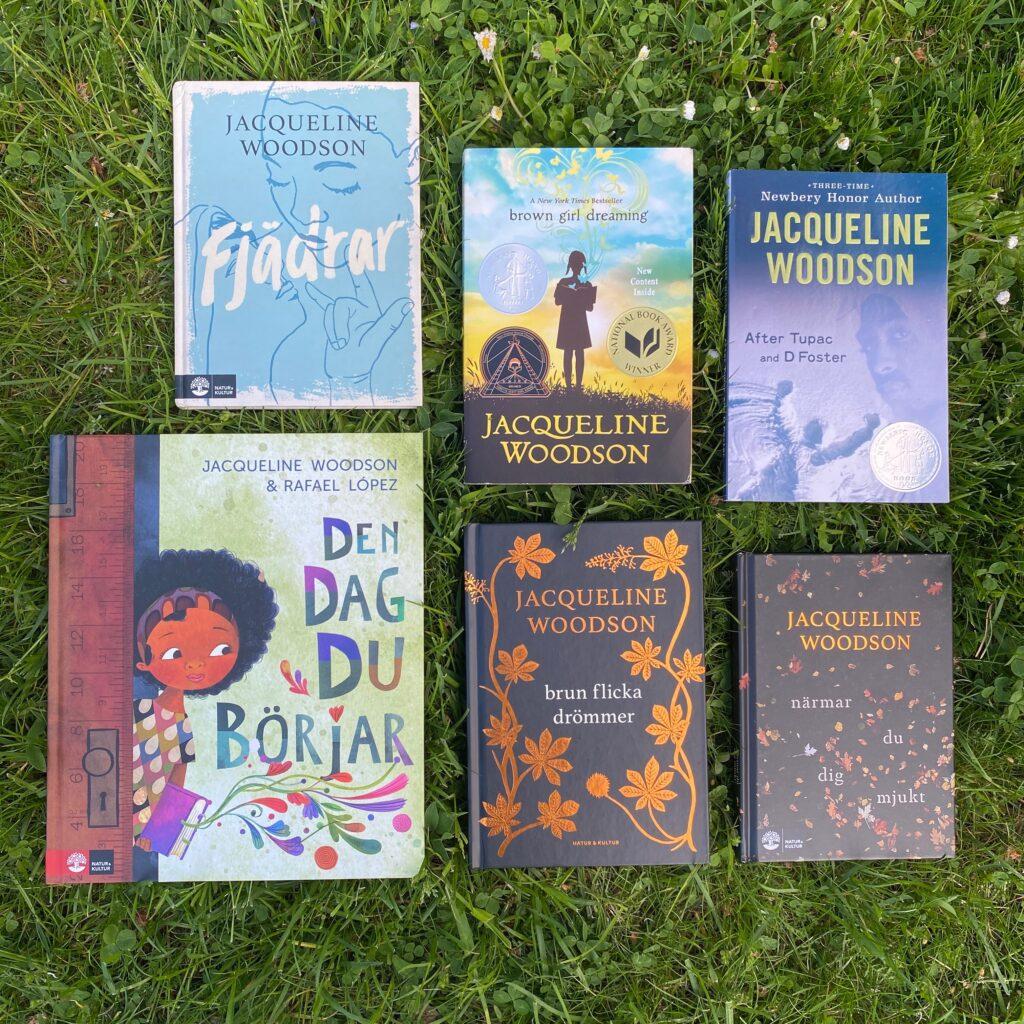 Boktips på tema representation: Jacqueline Woodsons böcker för barn och unga vuxna.