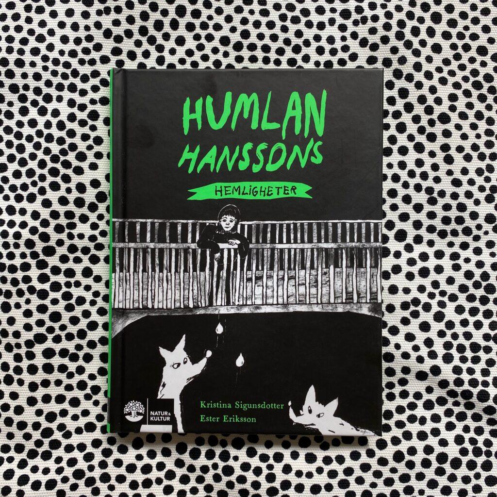 Humlan Hanssons hemligheter -boktips för 9-12 år