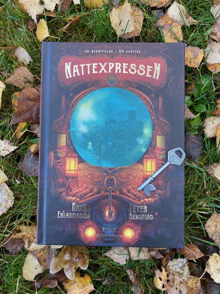 Adventsbok för äldre barn. Nattexpressen passar från ca 9 år och uppåt.
