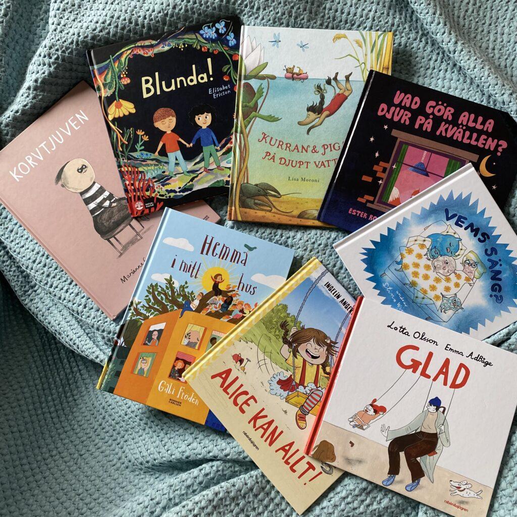 Barnböcker och boktips för barn