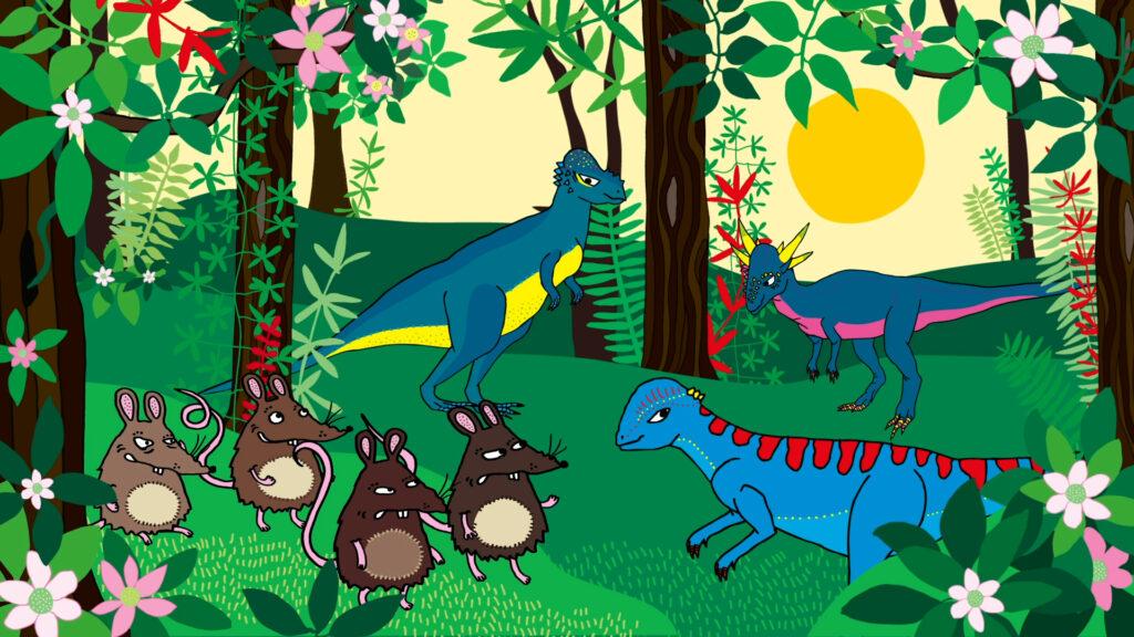 Dino deluxe dinosaurieböcker för barn